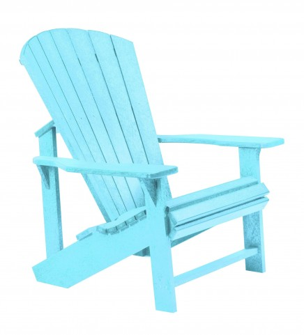 Generations Aqua Adirondack Chair