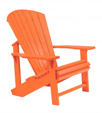 Generations Orange Adirondack Chair