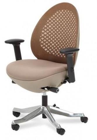 Linq Mid Mandarin Mesh Swivel Chair