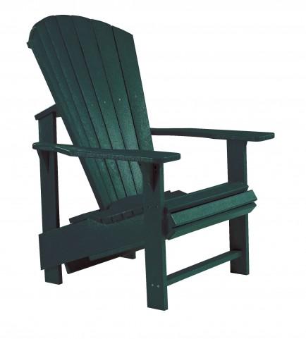 Generations Green Upright Adirondack Chair