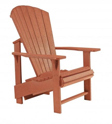 Generations Cedar Upright Adirondack Chair