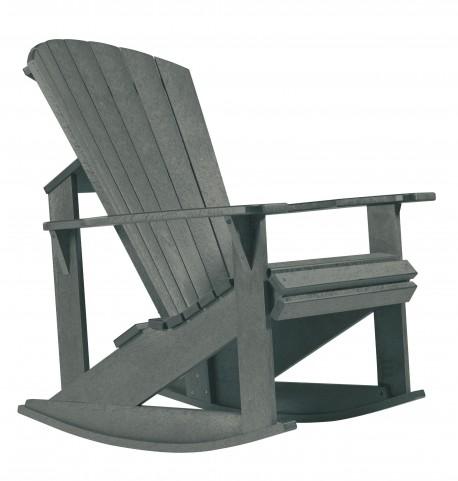 Generations Slate Adirondack Rocking Chair