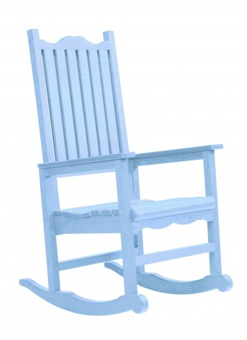 Generations Sky Blue Casual Porch Rocker