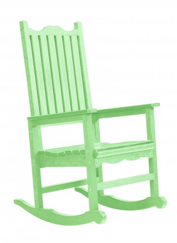 Generations Lime Green Casual Porch Rocker