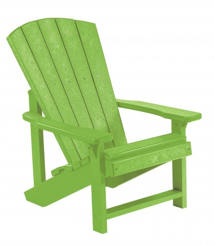 Generations Kiwi Lime Kids Adirondack Chair