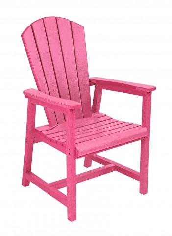 Generations Fuschia Adirondack Dining Arm Chair