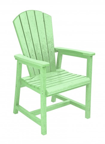 Generations Lime Green Adirondack Dining Arm Chair