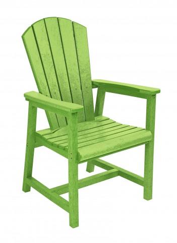 Generations Kiwi Lime Adirondack Dining Arm Chair