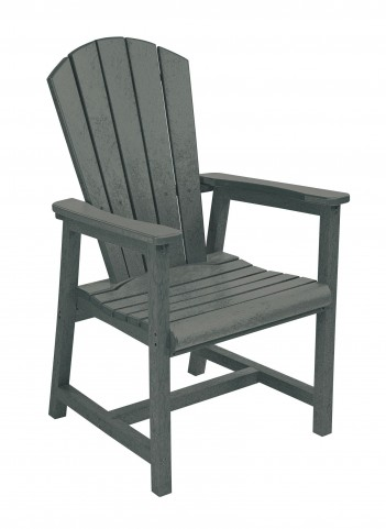 Generations Slate Adirondack Dining Arm Chair