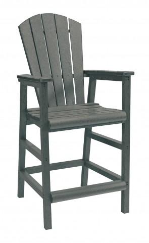 Generations Slate Adirondack Dining Pub Arm Chair