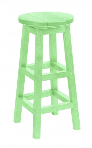 Generations Lime Green Dining Pub Barstool