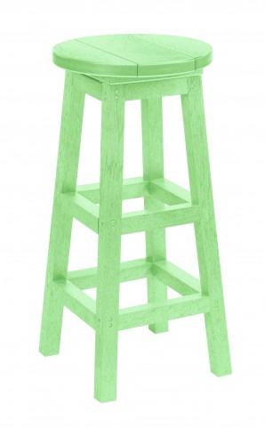 Generation Lime Green Swivel Bar Stool