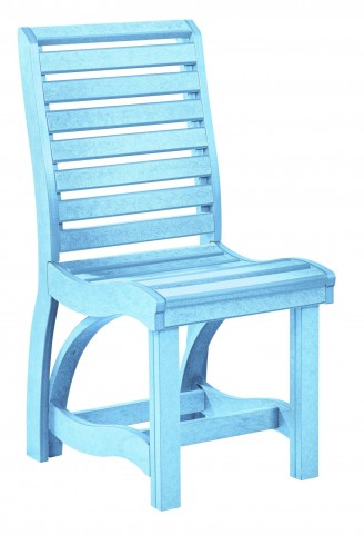 St Tropez Aqua Dining Side Chair