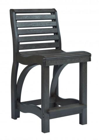 St Tropez Black Counter Chair