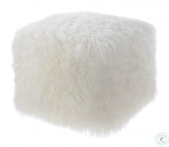 Tibetan Sheep Pouf