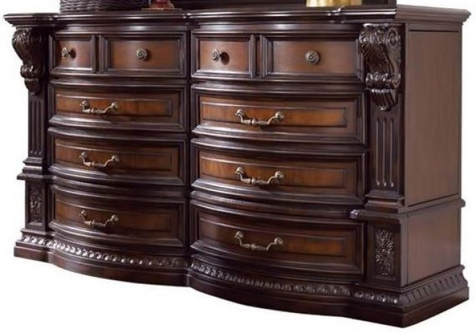 Grand Estates Cinnamon Dresser