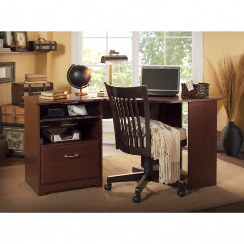 Cabot Harvest Cherry Corner Desk
