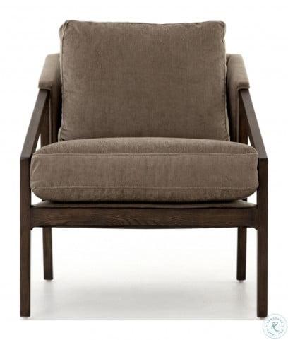 Abbott Sage Worn Velvet Earl Occasional Chair