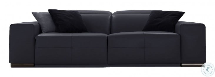 Camilla Anthracite Dandy Leather Power Reclining Living Room Set