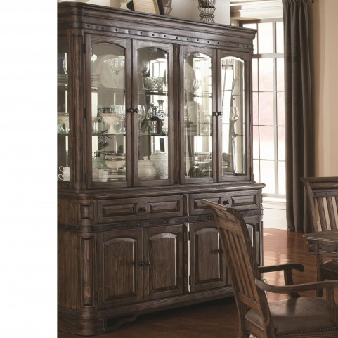 Carlsbad Dark Brown China Cabinet