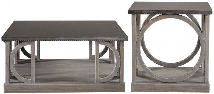 Curated Greystone Carlton Occasional Table Set