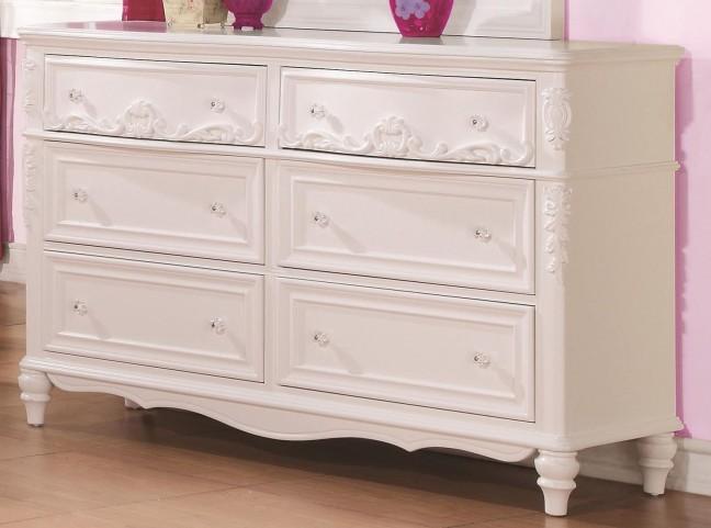 Caroline Decorative 6 Drawer Dresser