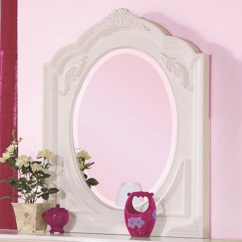 Caroline Framed Oval Mirror