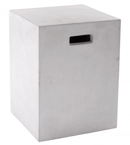 Castor White End Table