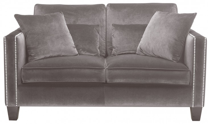 Cathedral Loveseat In Grey