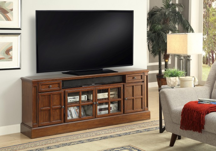 """Churchill Musket 72"""" TV Console With Power Center"""