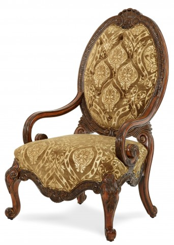 Chateau Beauvais Fabric Wood Chair