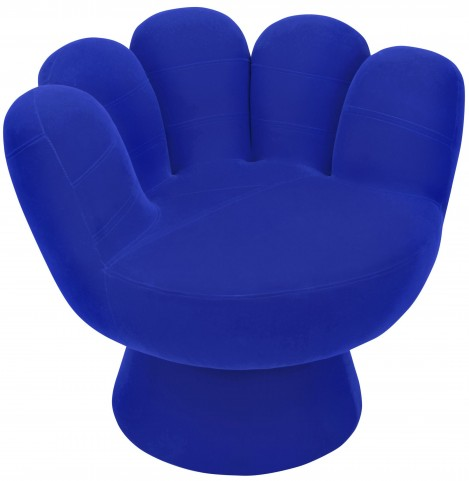 Mitt Blue Chair