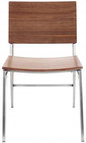 Pair of Tetra Walnut Dining Chair