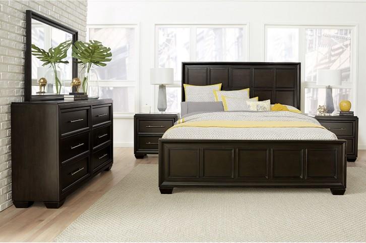 Crown Heights Brown Panel Bedroom Set