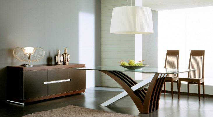 Mirage Wenge Dining Room Set