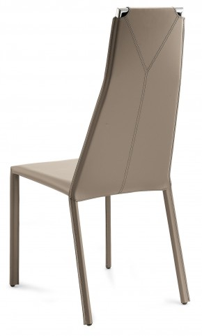 Cliff Taupe Leather Chair Set of 2