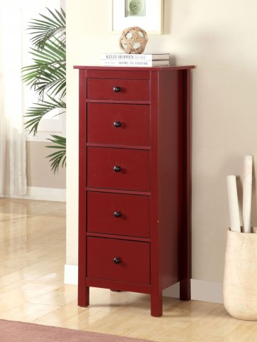 Launces Red Storage Chest
