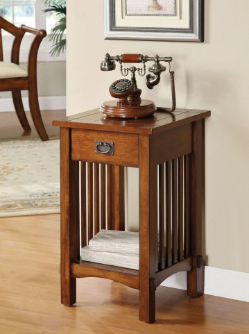 Valencia IV One Drawer Telephone Stand