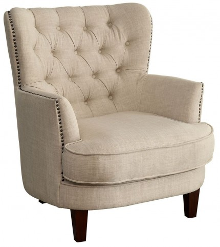 Arleen Ivory Accent Chair