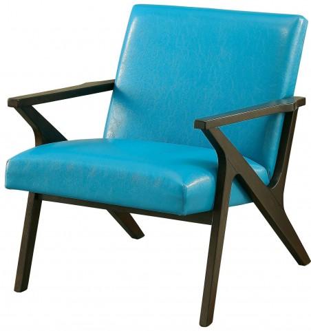 Margaux Blue Accent Chair