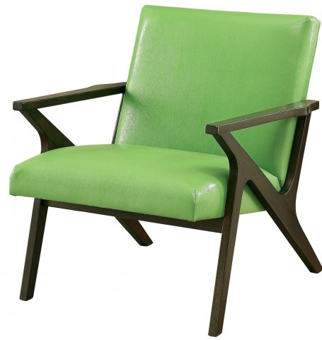 Margaux Green Accent Chair