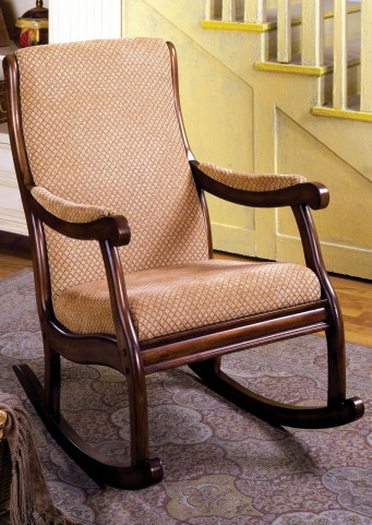Liverpool Fabric Rocking Chair