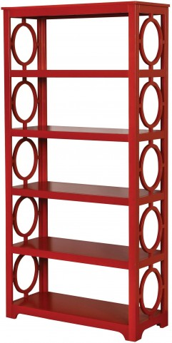 Zoey Red Display Shelf