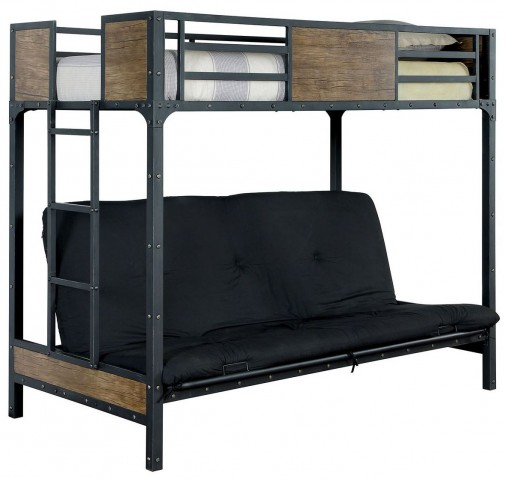 Clapton Twin Bed With Futon Base Cm Bk029ts Furniture Of
