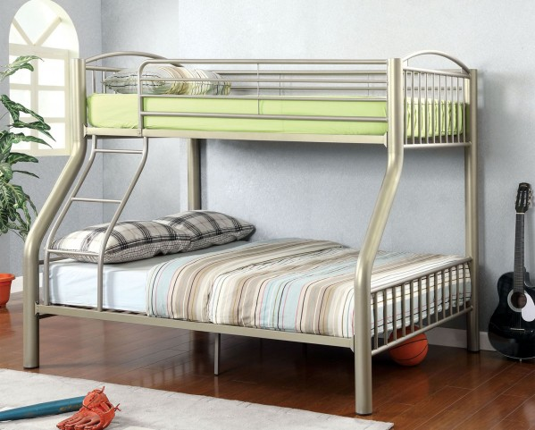 Lovia Twin Over Full Metal Bunk Bed