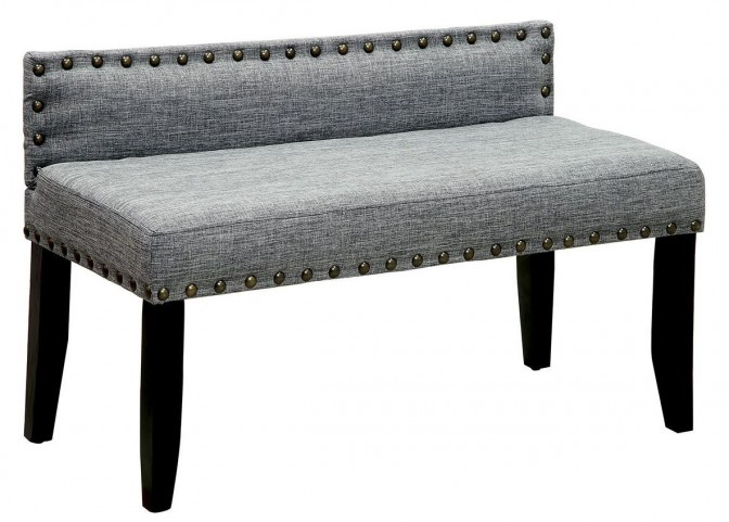 Herstal Gray Small Bench