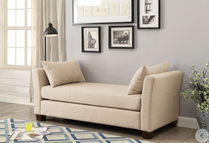 Excellent Enok Beige Bench Alphanode Cool Chair Designs And Ideas Alphanodeonline