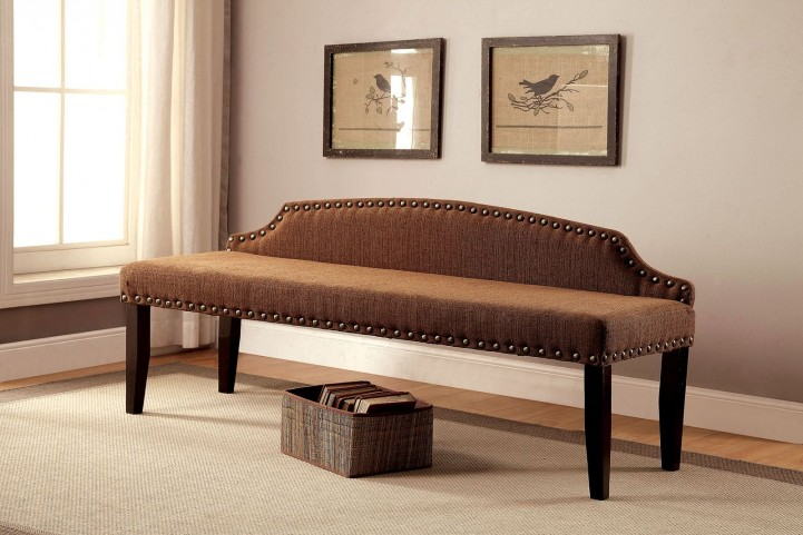 Hasselt Brown Large Bench