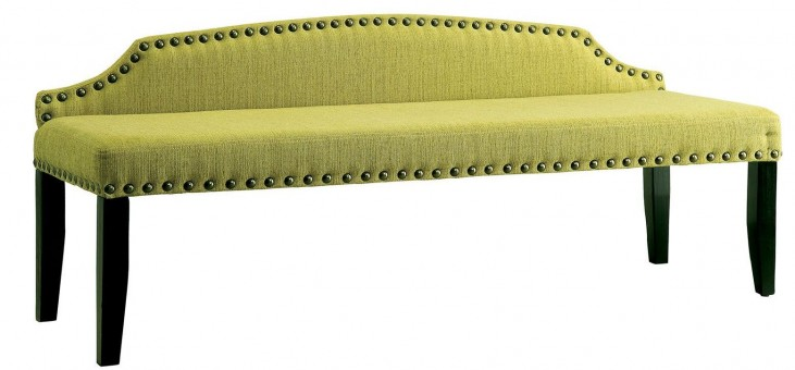 Hasselt Green Large Bench