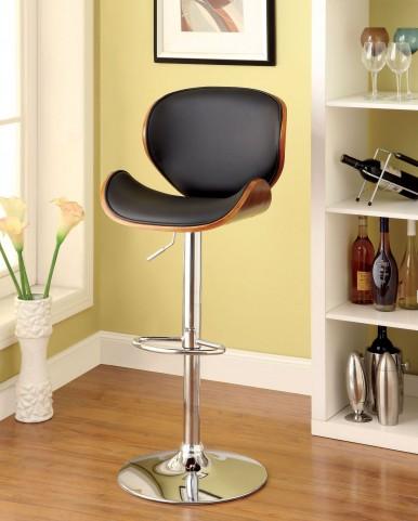 Belo Leatherette Adjustable Bar Stool